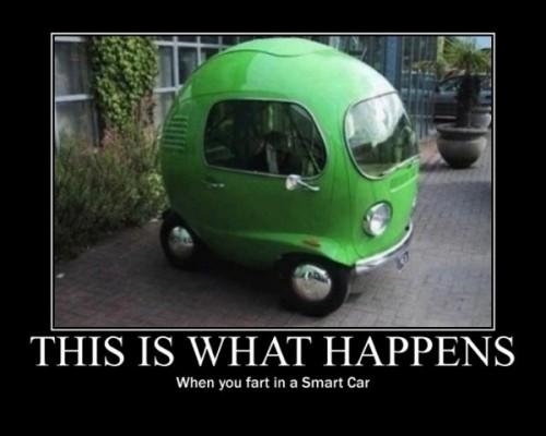 1Smart car fart