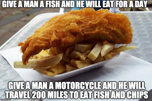 1Give a man a fish