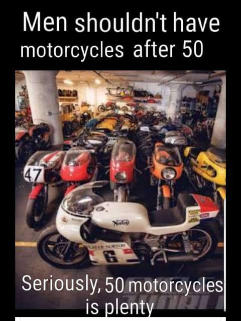 1 50 motorcycles