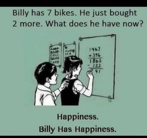 1Happiness is bikes